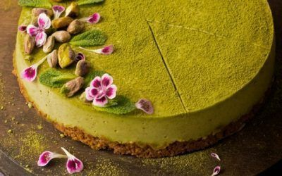 Cheesecake de aguacate y lima